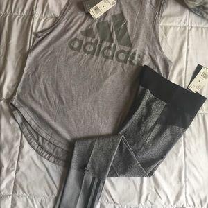 Women's Adidas Outfit - Medium $50